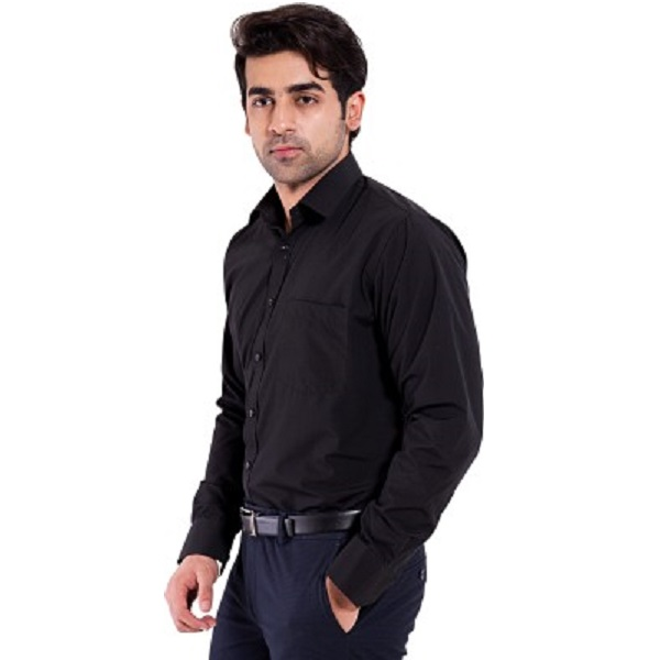 Mild Kleren Mens Solid Formal Shirt