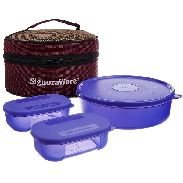 Signoraware Classic Lunch Box Set